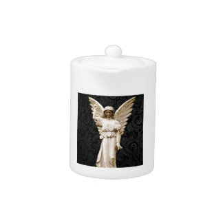 sympathy cemetery memorial Grief Gothic Angel Teapot