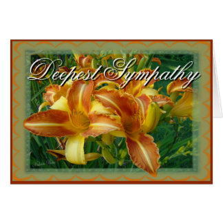 Sympathy-crnflw-customize Greeting Card