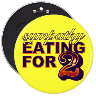 Sympathy Eating for Two Pin