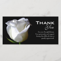 Sympathy / Funeral Thank You Photo Card