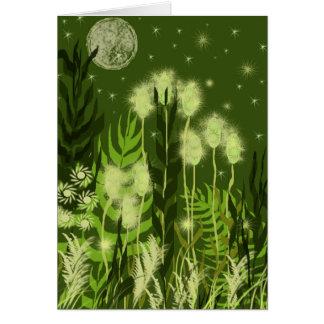 Sympathy - Green Moonlight Card