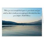 Sympathy Lake Card