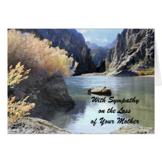 Sympathy, Loss of Mother, Beautiful Scenery Cards