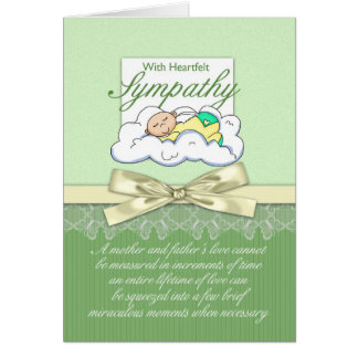Sympathy Loss Of Premature Baby / Loss Of Infant Card