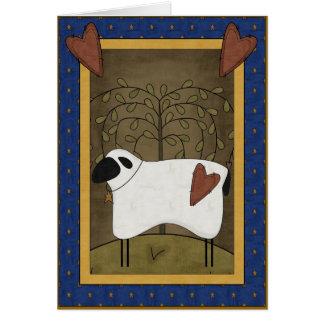 Sympathy Love of Shepherd Greeting Card