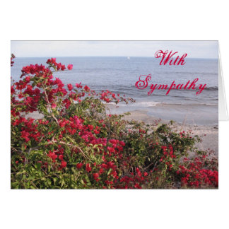 Sympathy Malibu Card