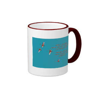 Sympathy-May You Find Comfort Trupeter Swans Mugs