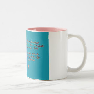 Sympathy-May You Find Comfort Trupeter Swans Two-Tone Coffee Mug