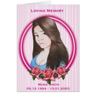Sympathy Memorial Card