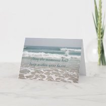 Sympathy Ocean Beauty Card