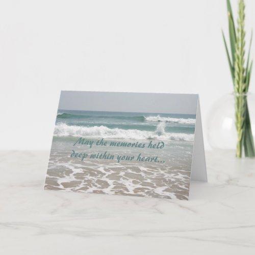 Sympathy Ocean Beauty Card