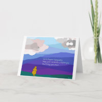 Sympathy (Pup & Clouds) Cards