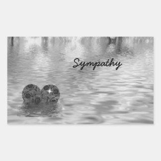 Sympathy! Rectangular Sticker