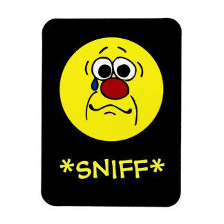 Sympathy Smiley Face Grumpey Magnet
