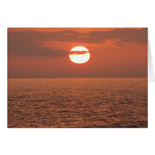 Sympathy Sunset Card