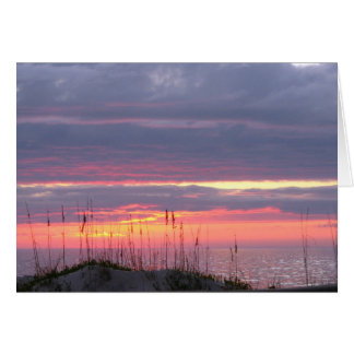 Sympathy Sunset Greeting Card