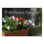 Sympathy Template Card