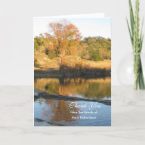 Sympathy Thank You Card - River