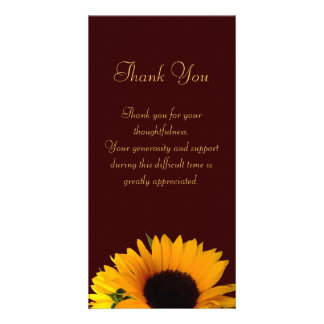 thank you card for death | just b.CAUSE