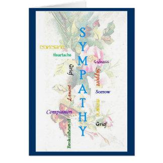 Sympathy Words Card