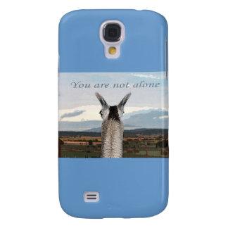 Sympathy: You Are Not Alone Llama Samsung Galaxy S4 Case