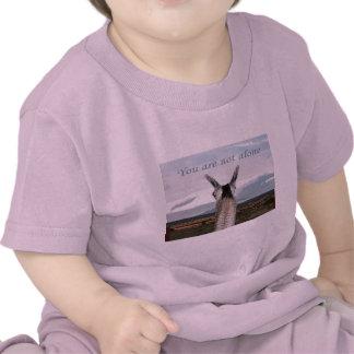 Sympathy: You Are Not Alone Llama Shirts