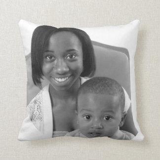 Symphoney Mills & Javin Burton Throw Pillows