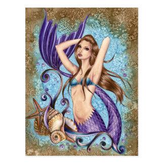 Symphoni - Ocean Mermaid Postcard