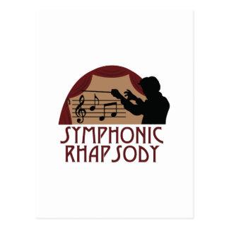 Symphonic Rhapsody Postcard