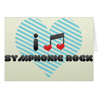 Symphonic Rock Greeting Cards