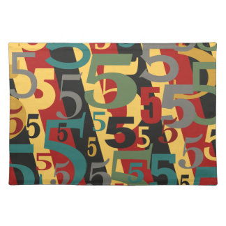 Symphony # 5 Fifth or Fiftieth Birthday Annivesary Place Mat