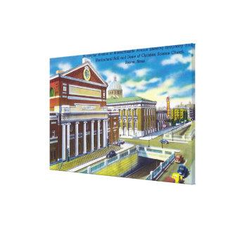 Symphony, Horticultural Hall Canvas Print