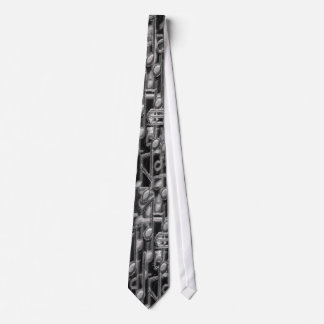 Symphony in Charcoal Neck Tie