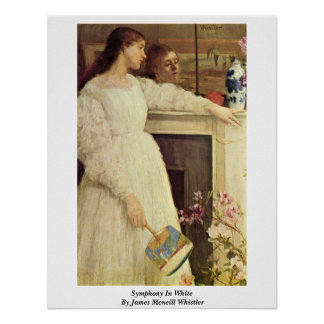 Symphony In White By James Mcneill Whistler Posters