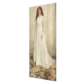 Symphony in White, No. 1: The White Girl Canvas Print
