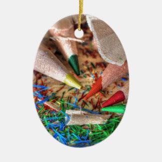 Symphony of Color Christmas Ornament