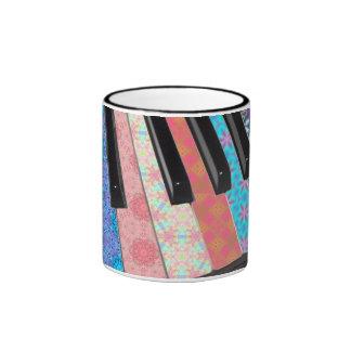 Symphony of Color Ringer Mug