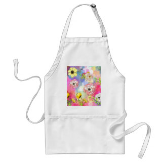 Symphony of colors drip paint art by healing love, apron