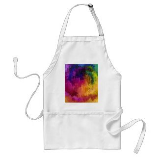 Symphony of colors drip paint art by healing love aprons