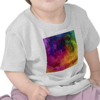 Symphony of colors drip paint art by healing love t shirt
