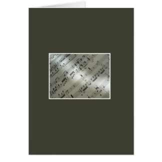 Symphony of Passion Greeting Card