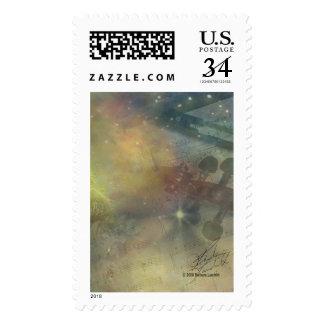 Symphony of Stars Postage Stamp