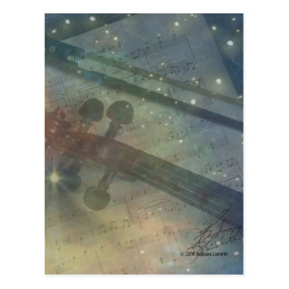 Symphony of Stars Postcard