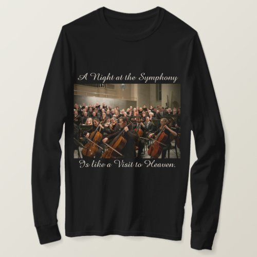 Symphony Orchestra Photo Quote T_shirt