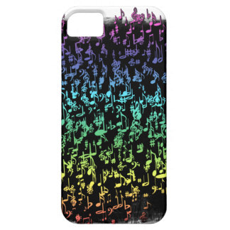 Symphony Rainbow Music Notes iPhone 5 Covers