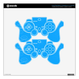 Symphony Swirl Decal For PS3 Controller