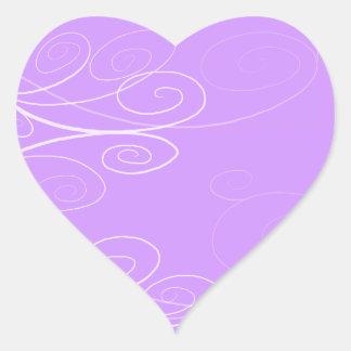 Symphony Swirl Heart Sticker