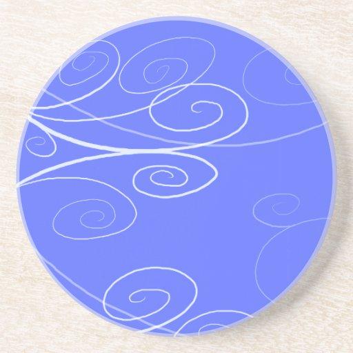 Symphony Swirl Sandstone Coaster