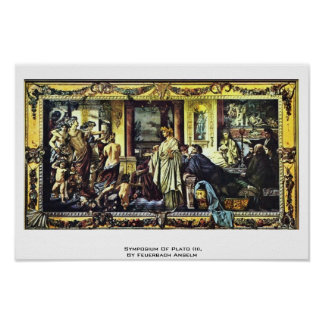 Symposium Of Plato (Ii), By Feuerbach Anselm Print