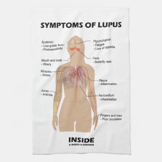 Symptoms Of Lupus Inside Autoimmune Disorder Kitchen Towel